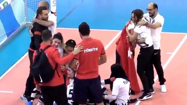Kadın Golbol Milli Takımı, Avrupa şampiyonu oldu!