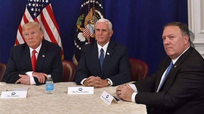 Son dakika... Trump: Pence ve Pompeo yarın Türkiye'ye gidecek