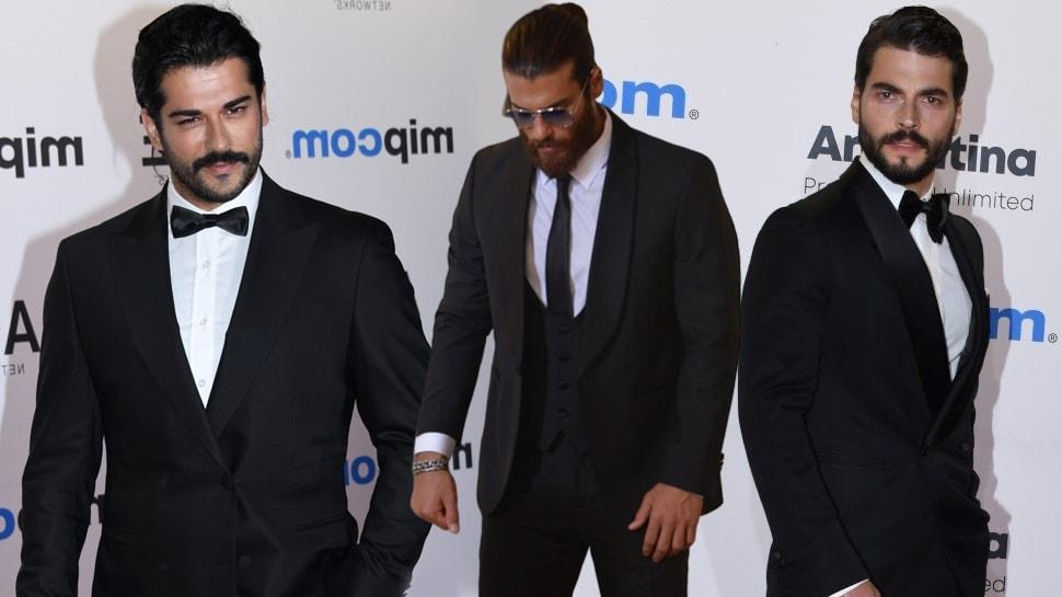 Cannes'da Can Yaman, Akın Akınözü ve Burak Özçivit yarışı! Sosyal medya karıştı