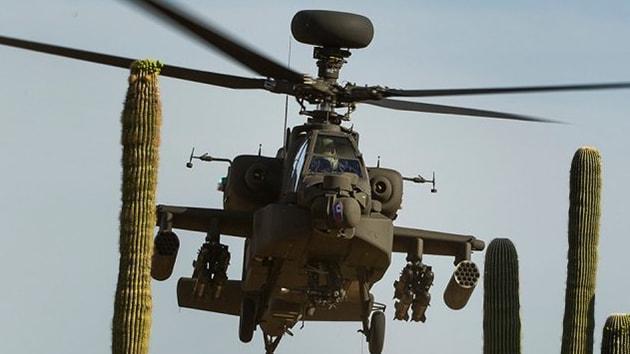ABD'den savaş uçakları, Apache helikopteri ve füze sistemleri alacaklar