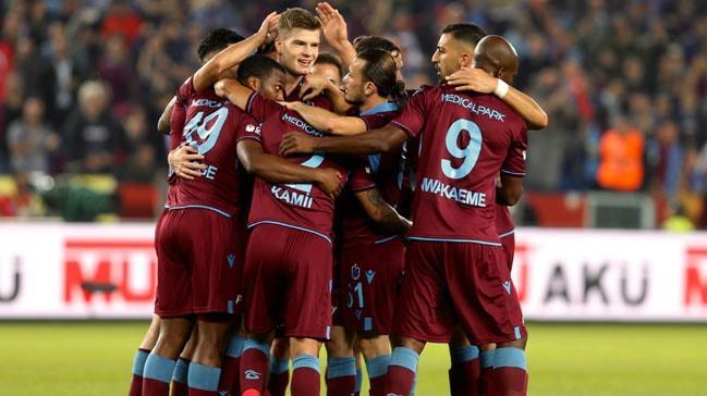 Trabzonspor, kendi sahasında Gazişehir'i farklı mağlup etti