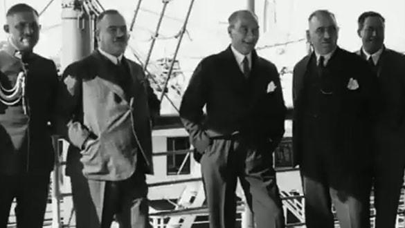 Atatürk'ün bugüne kadar hiç yayınlanmamış görüntüsü! Bakan Ersoy paylaştı