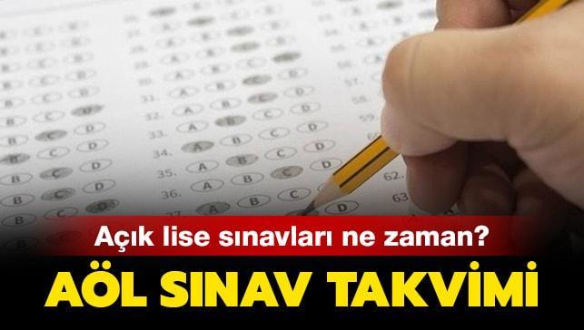 """AÖL sınav tarihleri 2019 ne zaman"""""""