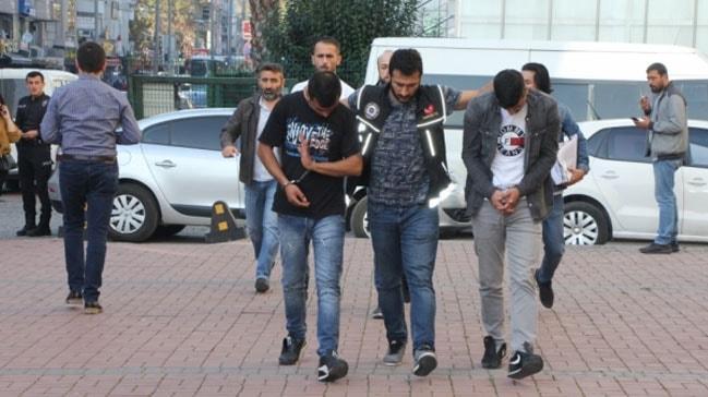 Kocaeli'de düzenlenen uyuşturucu operasyonunda 13 kişi yakalandı