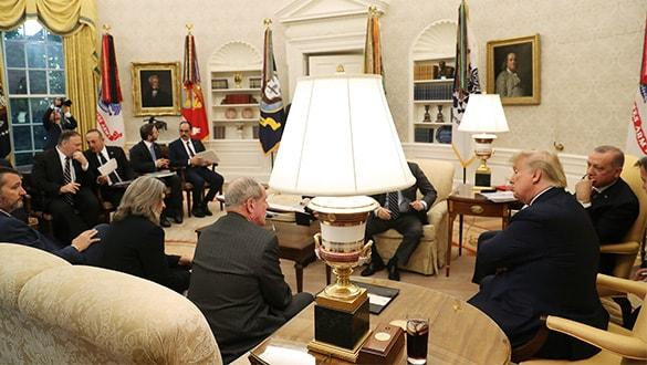 Ortak basın toplantısında Başkan Erdoğan'dan ABD'li senatörlere ayar