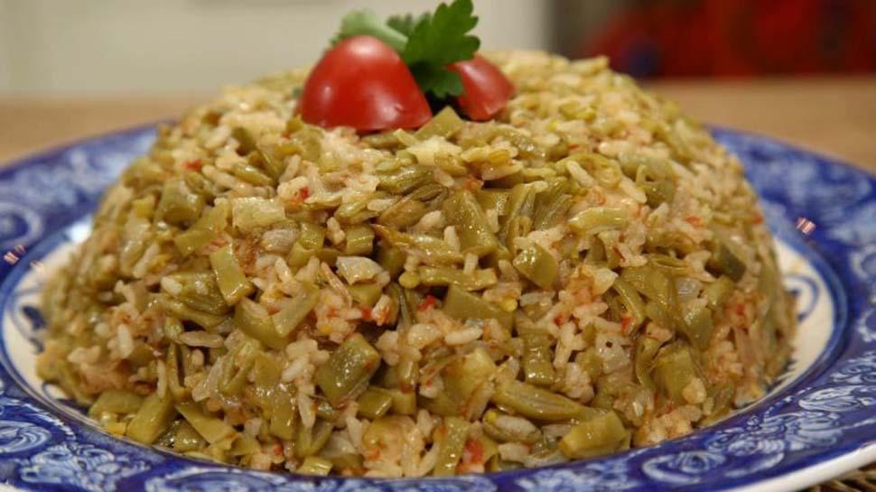 Sağlık için bire bir lezzet: Dible fasulyeli pilav tarifi