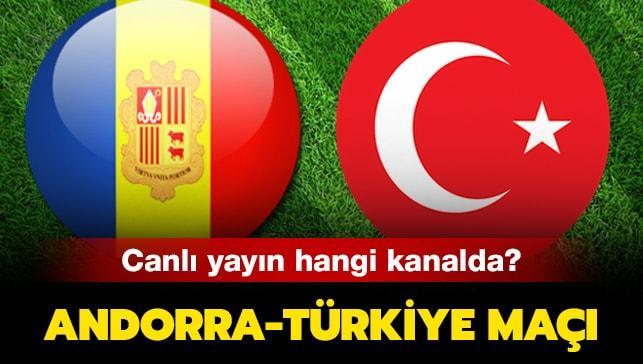 Andorra-Türkiye karşılaşması için heyecan artıyor!