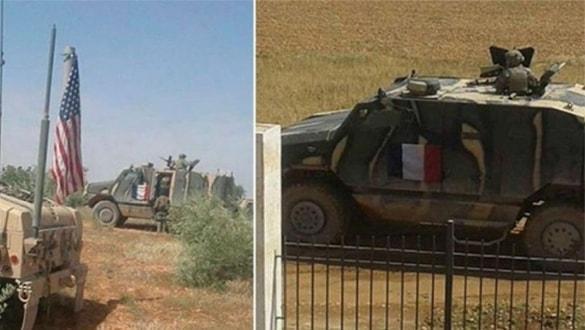 Macron'un acizliği ifşa oldu! Fransa ordusu, Suriye'de ABD'nin imkanlarıyla varlık gösterebiliyor