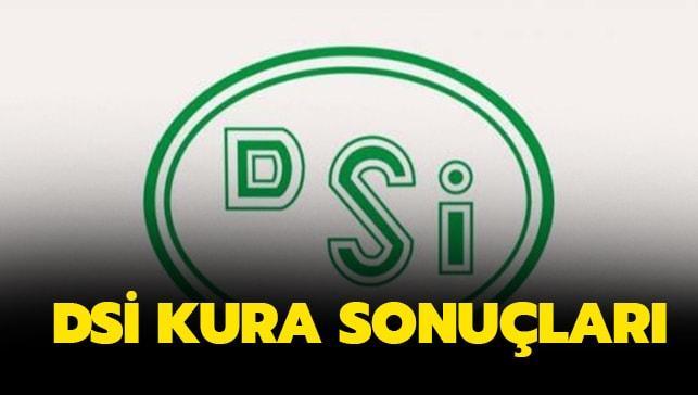 DSİ işçi alımı kura sonuçları dsi.gov.tr sorgulama sayfası..İŞKUR DSİ kura sonuçları açıklandı!