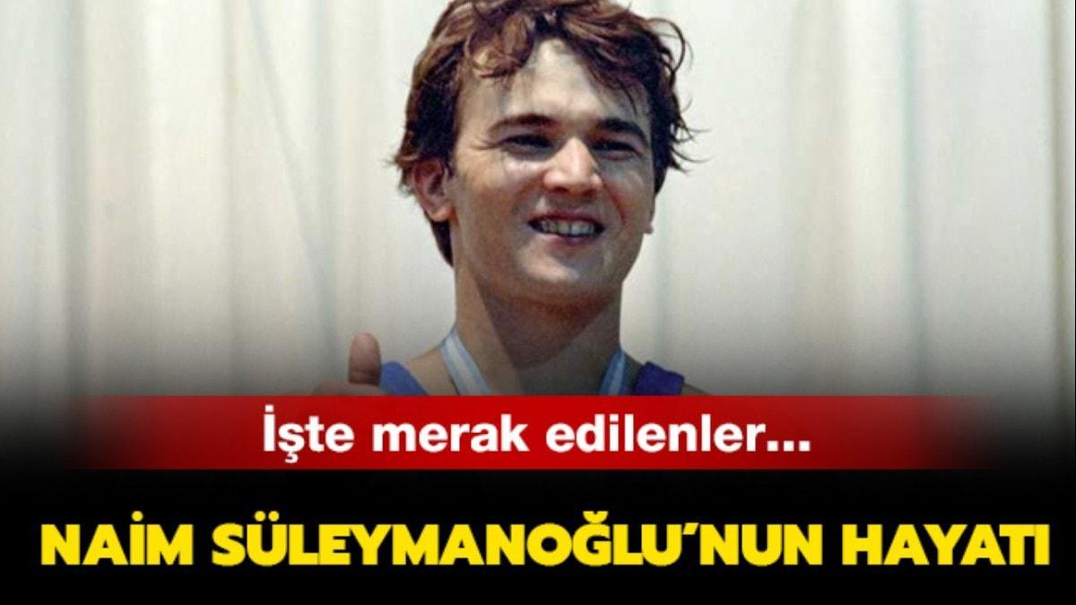"""Naim Süleymanoğlu kaç yaşında öldü"""" Naim Süleymanoğlu kimdir, nereli""""  İşte hayatı"""