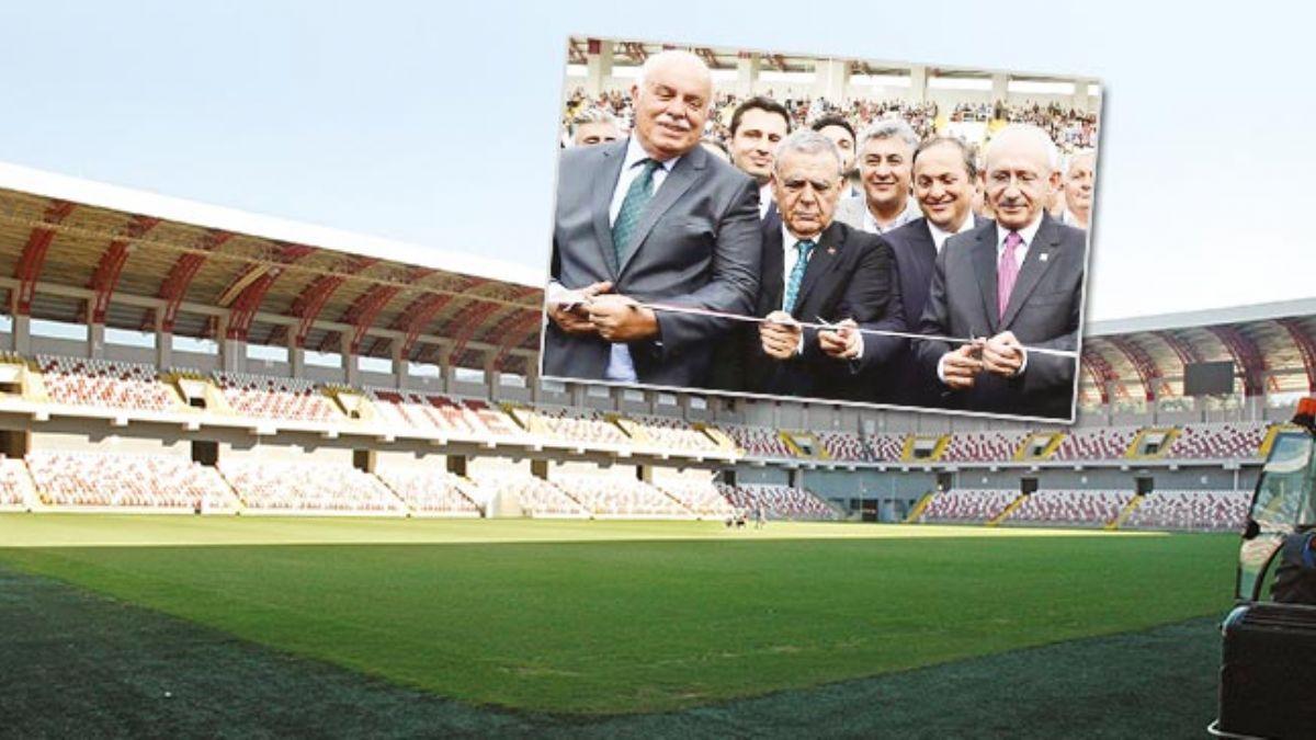 Kılıçdaroğlu'nun açtığı stadyum çürümeye terk edildi! 70 milyon liralık stat 90 dakikada kapatıldı