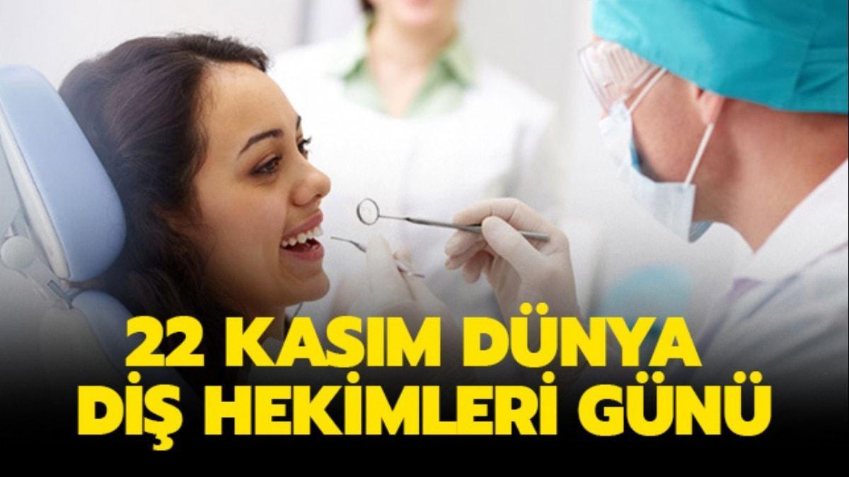 Diş Hekimleri Günü mesajları, sözleri: 22 Kasım Dünya Diş Hekimleri Günü olarak kutlanıyor..