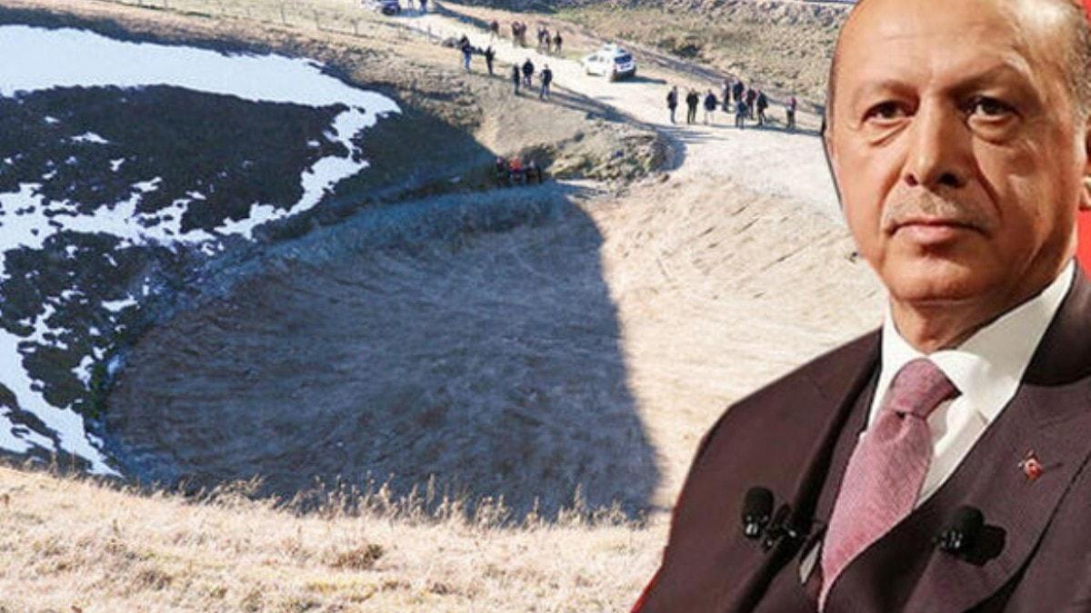"""Başkan Erdoğan'dan Dipsiz Göl tepkisi! 'Bu izinler nasıl veriliyor""""' dedi ve talimatı verdi"""