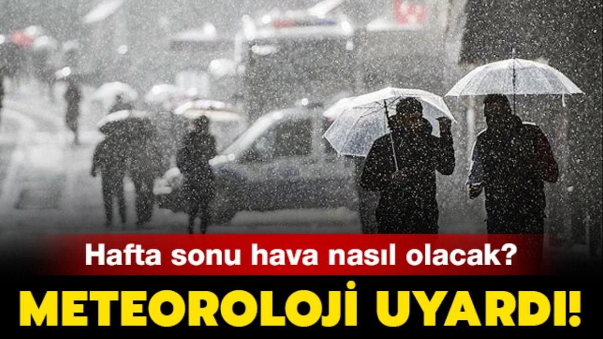 """24 Kasım hava durumu: İstanbul'da bugün yağmur var mı"""" Hafta sonu hava nasıl olacak"""""""