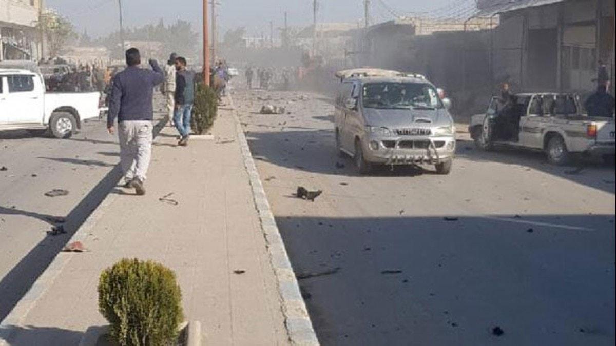 Teröristlerden Tel Abyad'da hain saldırı!