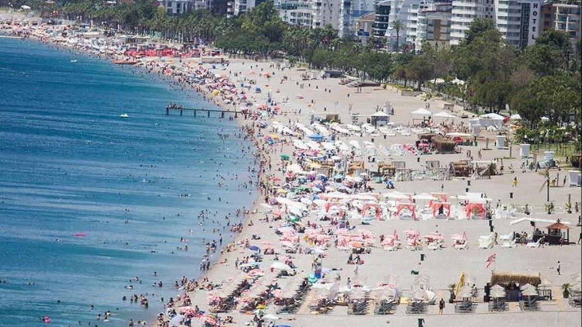 Antalya'dan tarihi rekor! 15 milyonu geçti