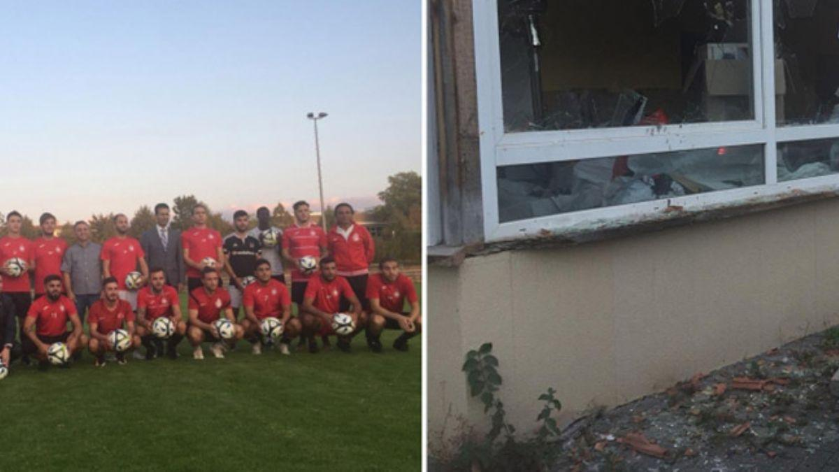Almanya'da Türk kulübüne çirkin saldırı! Kulüp binası ateşe verildi