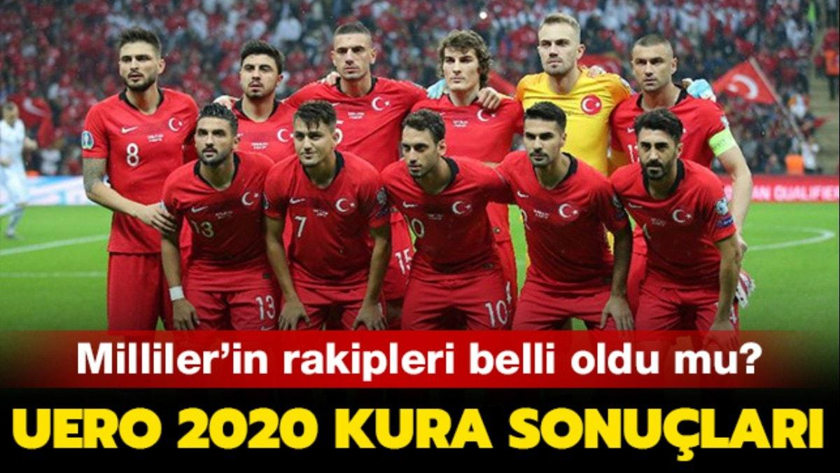 """EURO 2020 rakiplerimiz belli oldu! EURO 2020'de Türkiye hangi grupta, kimlerle oynayacak"""" EURO 2020 kura sonuçları"""