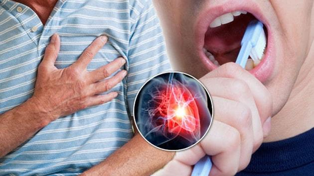 Dişleri fırçalamak kalbi koruyor