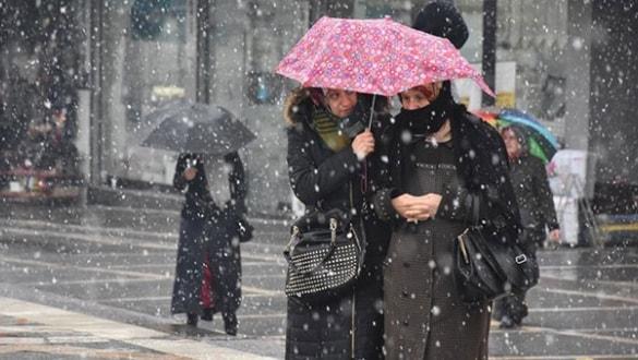 Meteoroloji'den soğuk hava ve sağanak uyarısı