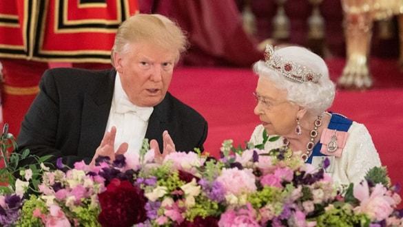 Kraliçe'nin NATO liderleri resepsiyonuna Kate Middleton desteği