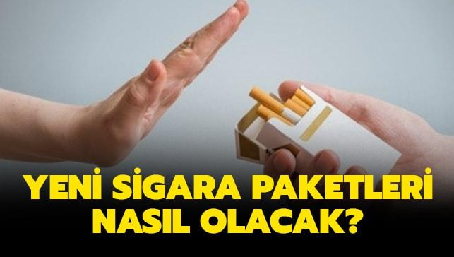 """Yeni sigara paketleri nasıl olacak"""" Pantone 448 C mat rengi nedir"""""""