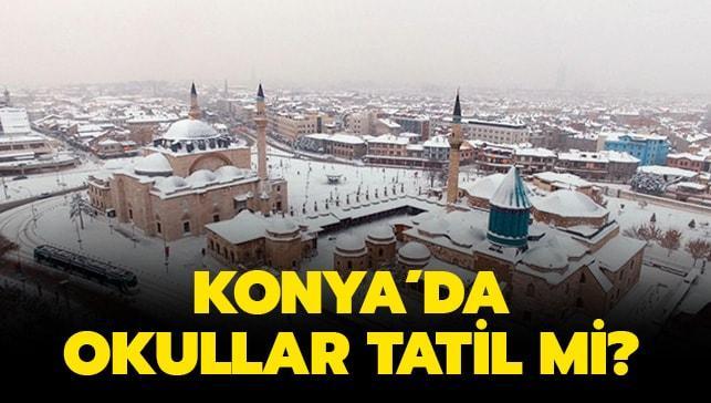 Konya'dan tatil açıklaması gelmedi