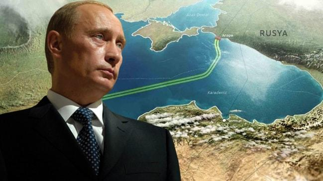 Putin çok sert tepki gösterdi: TürkAkım inşaatını yavaşlatıyorlar