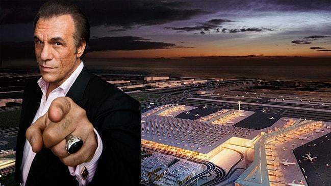 Amerikalı oyuncudan İstanbul Havalimanı için övgü dolu sözler