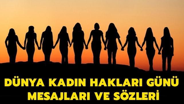 Dünya Kadın Hakları Günü mesajları haberimizde.. 5 Aralık Dünya Kadın Hakları Günü sözleri..