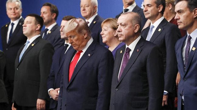 NATO basın toplantısına Türkiye damga vurdu!