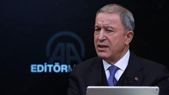 Milli Savunma Bakanı Akar: NATO planlarını bloke söz konusu değil