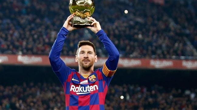 Ömür boyu Messi