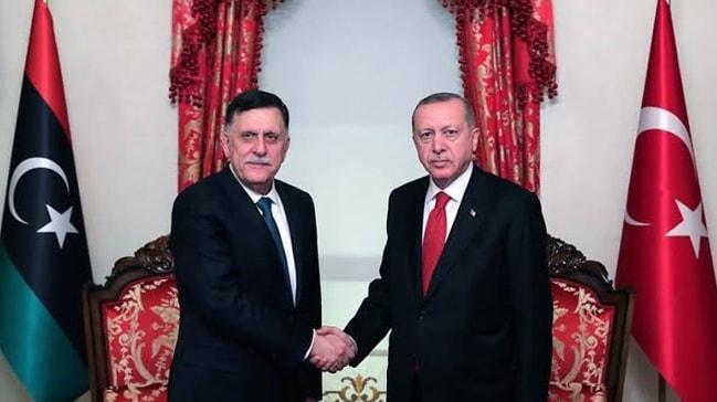 Başkan Erdoğan' dan kritik görüşme! Fayez Al Sarraj'ı kabul etti
