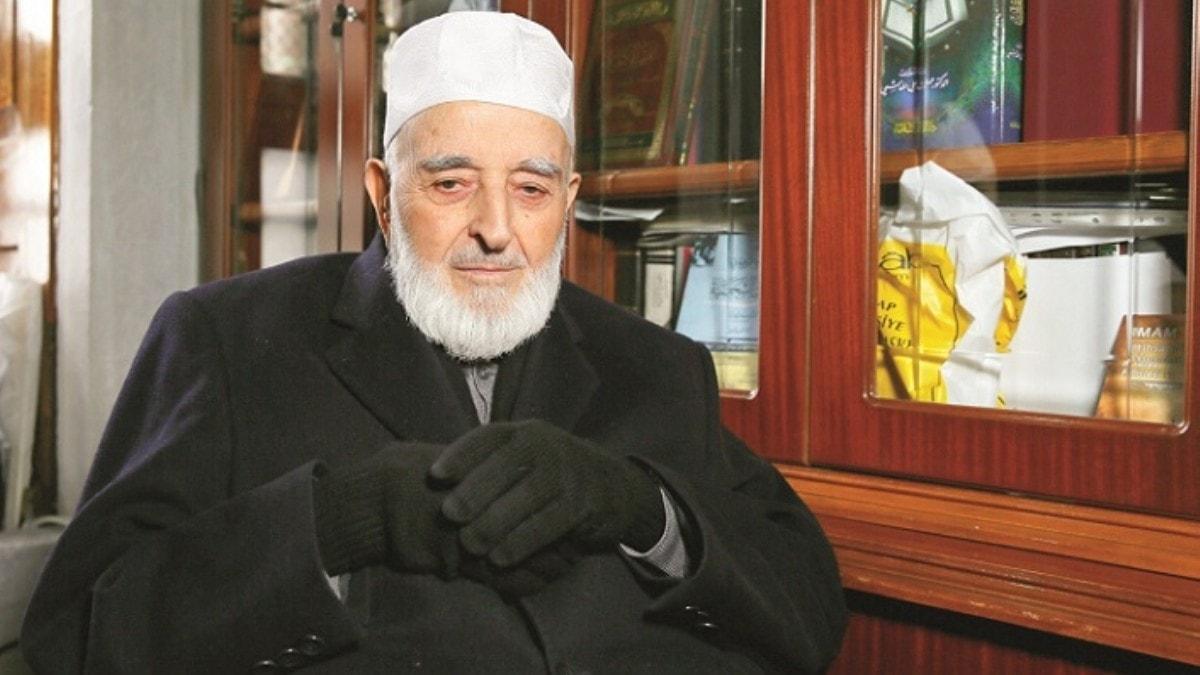 Yaşayan son Osmanlı alimi: Mehmet Emin Saraç