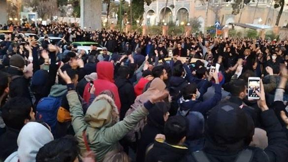 İran'da rejim karşıtı gösteriler devam ediyor