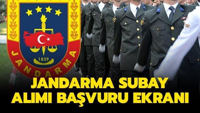 Jandarma muvazzaf subay alımı yapacak
