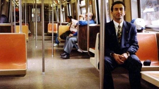 Bakan Çavuşoğlu öğrencilik fotoğrafını paylaştı! ABD'deki NY metrosunda...