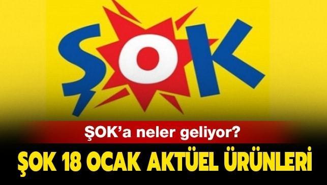 """SOK'a bugün neler geliyor""""  18 Ocak ŞOK aktüel ürünler kataloğu yayınlandı"""