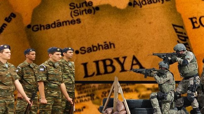 """Türkiye Libya'da Yunanistan'la çatışır mı"""""""