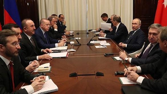 Başkan Erdoğan ve Putin'den Libya için kritik mesajlar