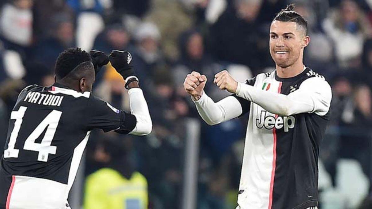 Cristiano Ronaldo Juventus'u taşımaya devam ediyor