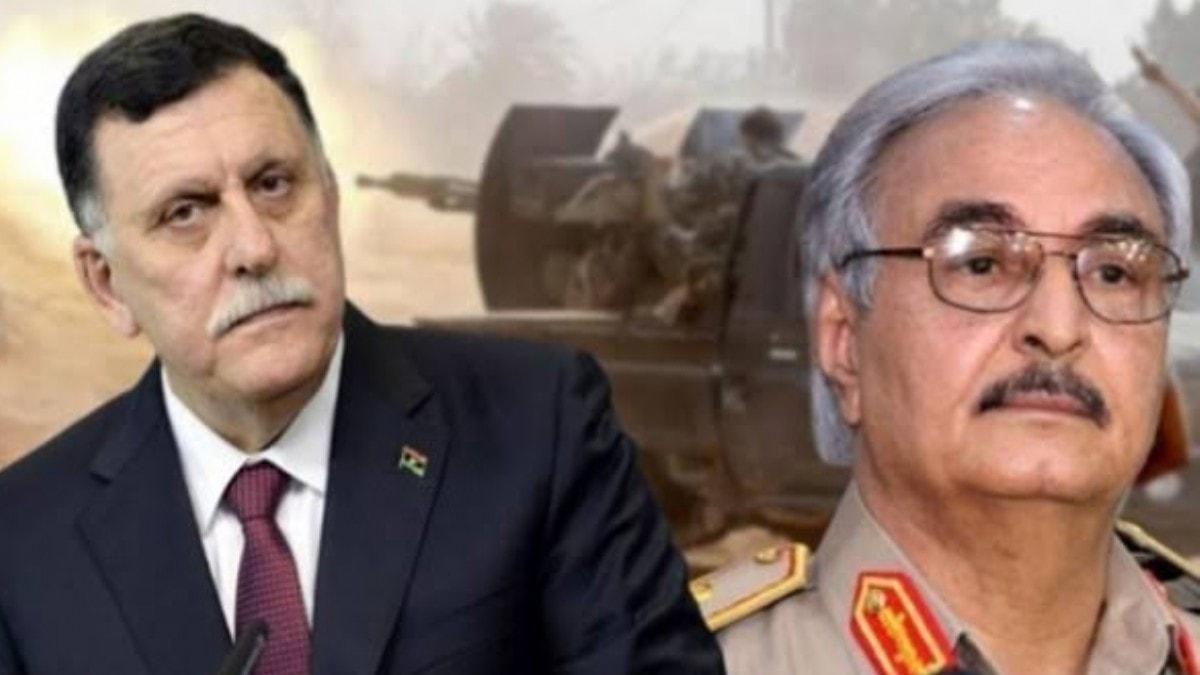 Libya Başbakanı Serrac'tan son dakika Hafter açıklaması