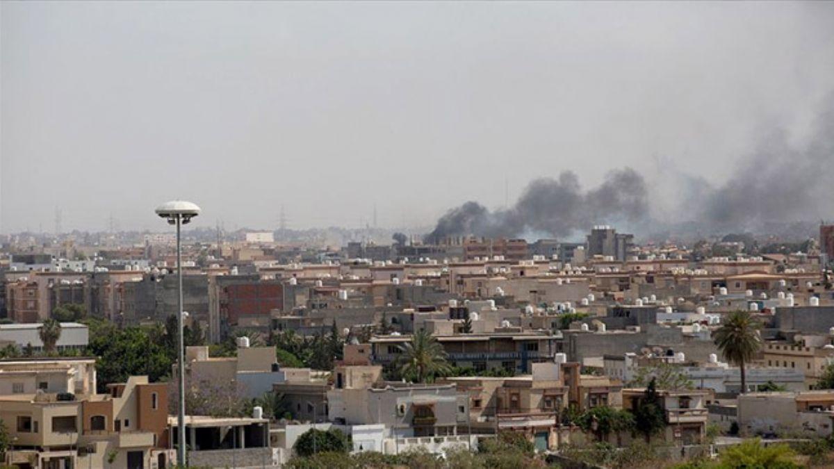 Hafter milislerinin başkent Trablus çevresinde ateşkes ihlali devam ediyor