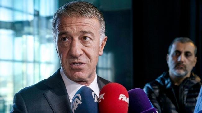 Ahmet Ağaoğlu: Abdülkadir Ömür'e 23, Uğurcan Çakır'a 20 milyon Euro teklif geldi