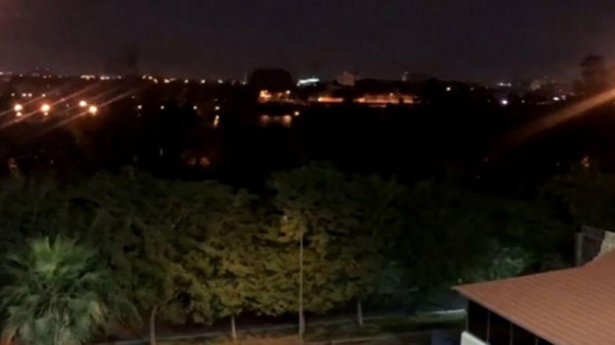 ABD Büyükelçiliği yakınlarına füzeli saldırı! Sirenler aktif edildi