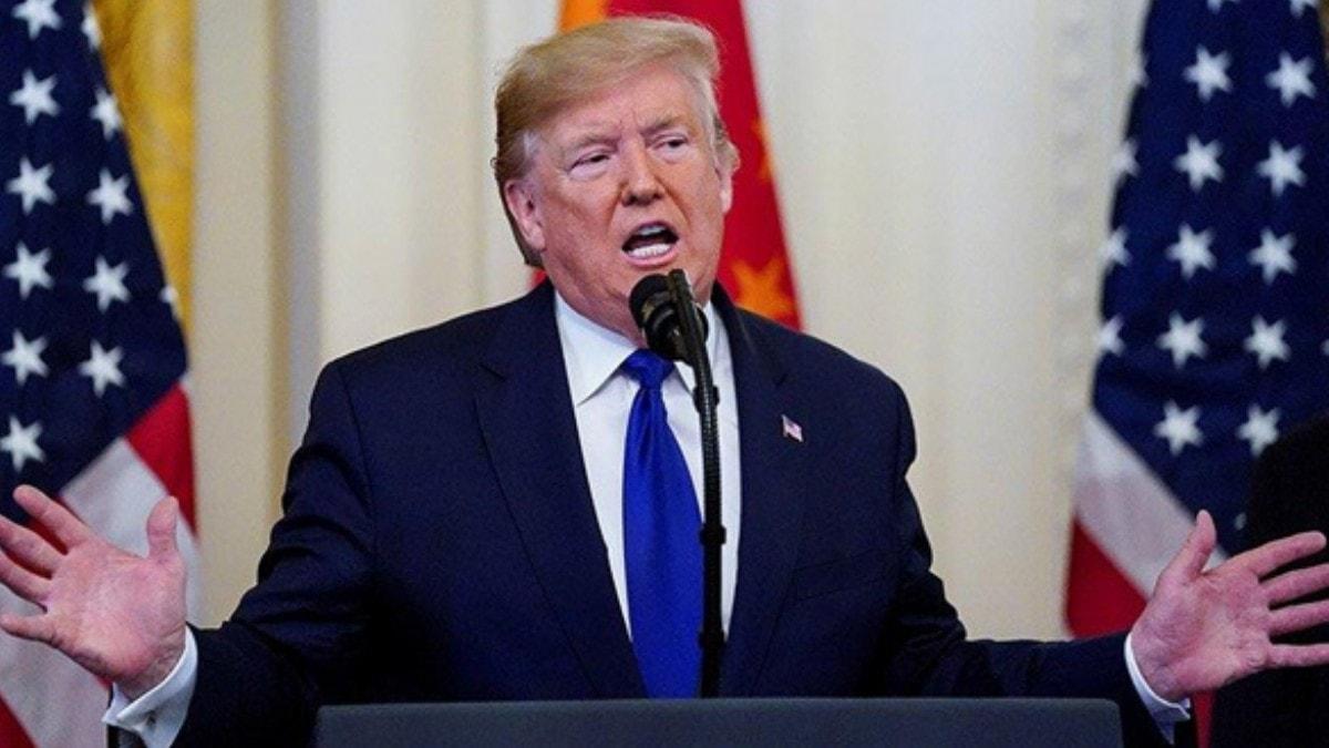 """Görevden alınacak mı"""" Trump için 24 saat süre verildi"""