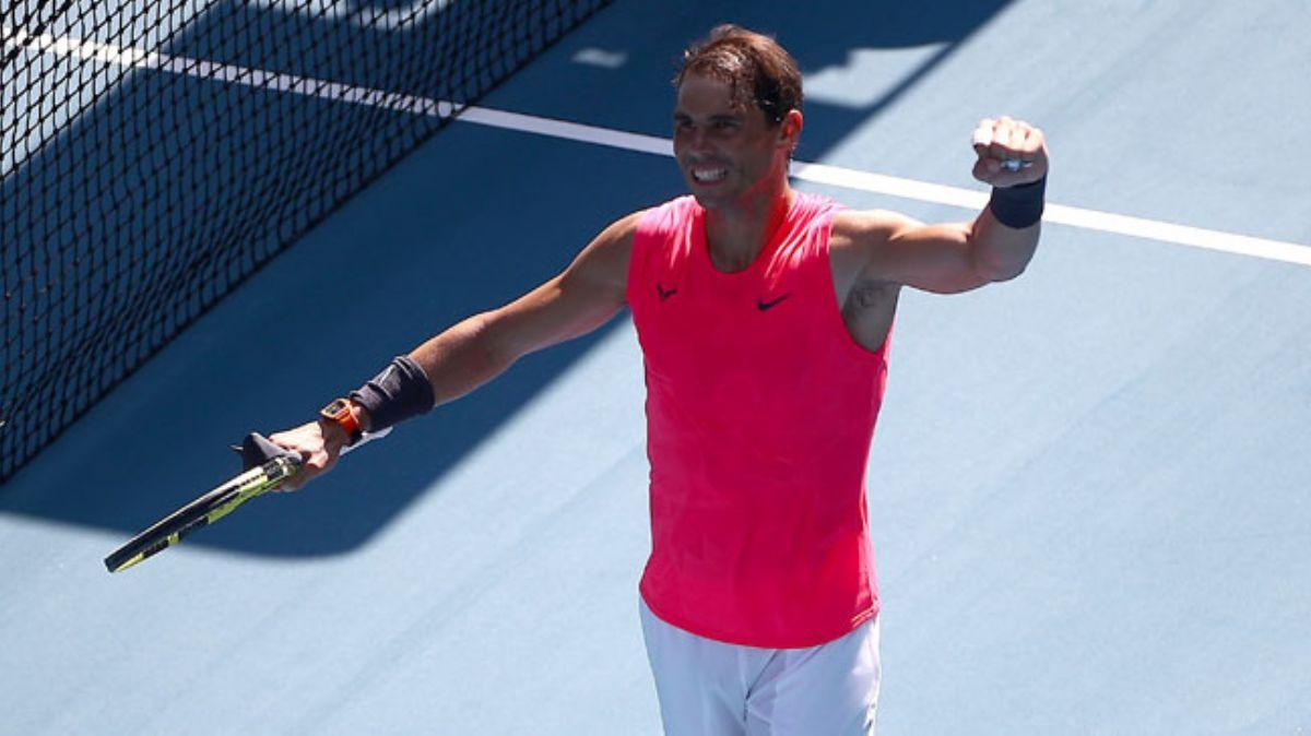 Avustralya Açık'ta Rafael Nadal ve Karolina Pliskova 2. tura yükseldi