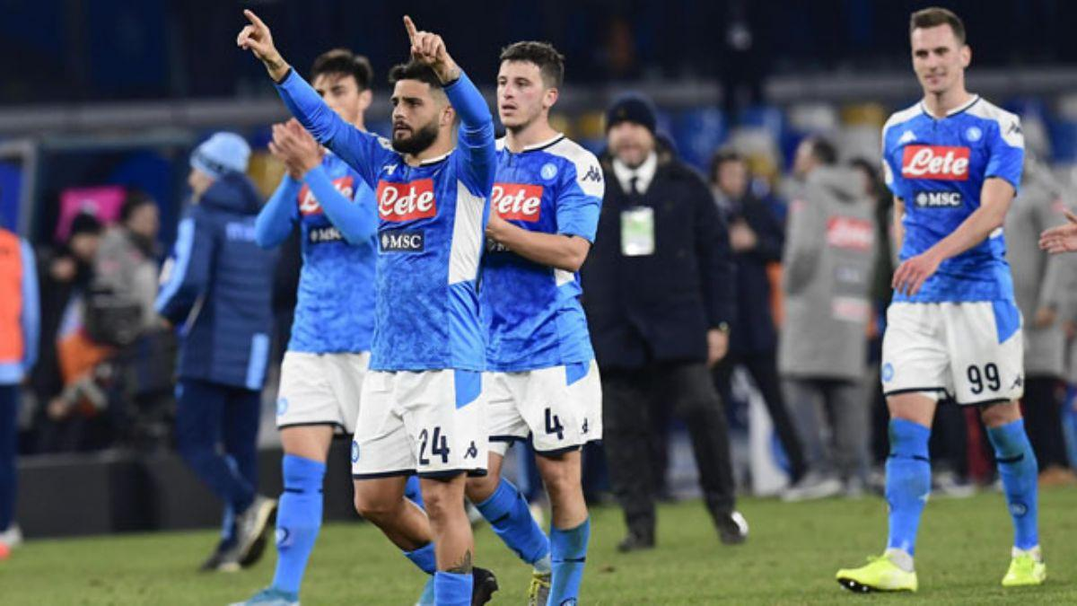 Napoli, Lazio'yu eleyerek yarı finale adını yazdırdı