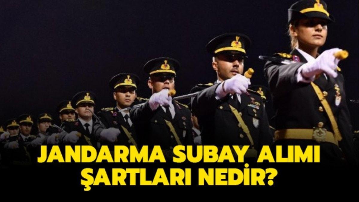 """Jandarma personel temin sayfası: Jandarma muvazzaf subay alımı 2020 başvuru şartları nedir"""""""